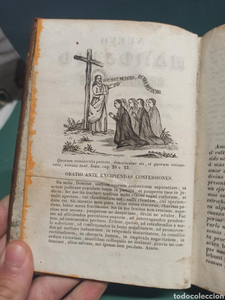 Libros antiguos: Nuevo Manojito de Flores ó sea recopilación de doctrinas para los confesores 1847 - Foto 2 - 244877490