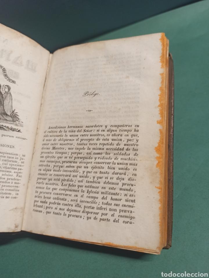 Libros antiguos: Nuevo Manojito de Flores ó sea recopilación de doctrinas para los confesores 1847 - Foto 3 - 244877490