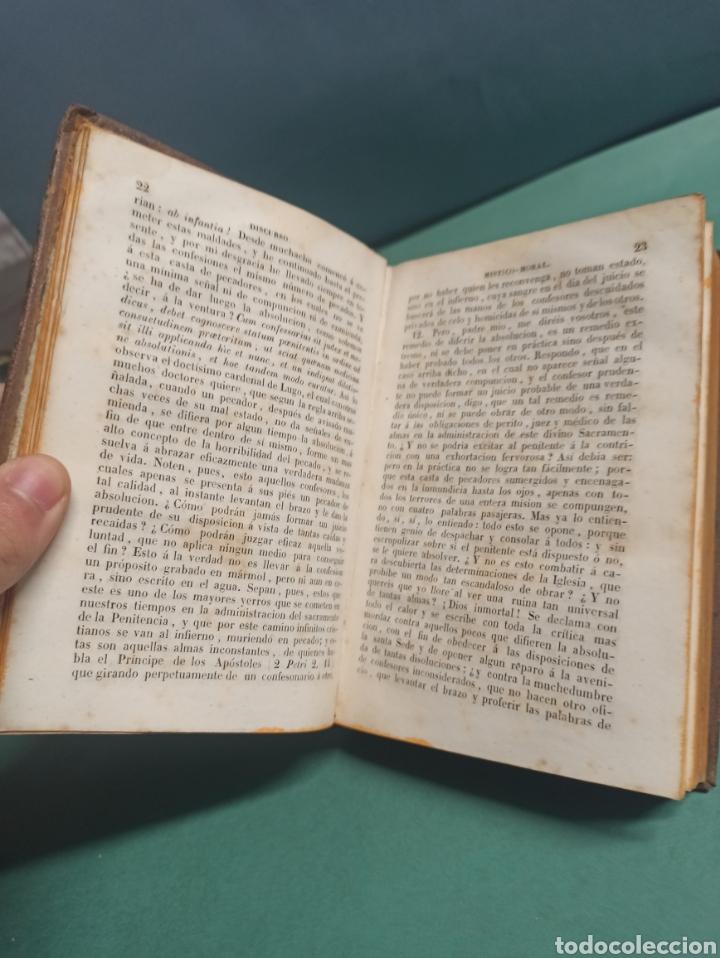Libros antiguos: Nuevo Manojito de Flores ó sea recopilación de doctrinas para los confesores 1847 - Foto 4 - 244877490