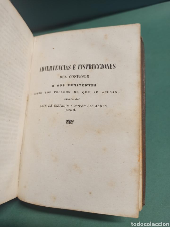 Libros antiguos: Nuevo Manojito de Flores ó sea recopilación de doctrinas para los confesores 1847 - Foto 5 - 244877490