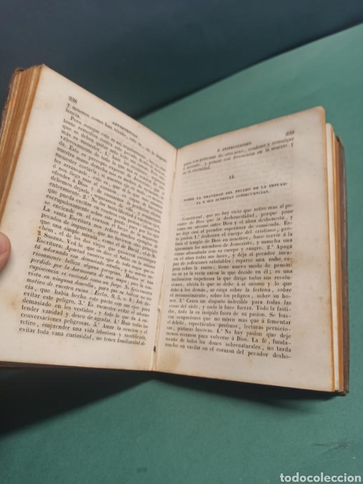 Libros antiguos: Nuevo Manojito de Flores ó sea recopilación de doctrinas para los confesores 1847 - Foto 6 - 244877490