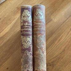 Libri antichi: 2 TOMOS MEDITACIONES ESPIRITUALES (I-III) - LUIS DE LA PUENTE - 1884. Lote 244987680