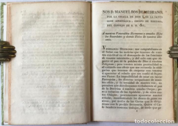 Libros antiguos: NOS DON VICTOR DAMIAN SAEZ SANCHEZ MAYOR, POR LA GRACIA DE DIOS Y DE LA SANTA SEDE APOSTOLICA... - Foto 4 - 245010200