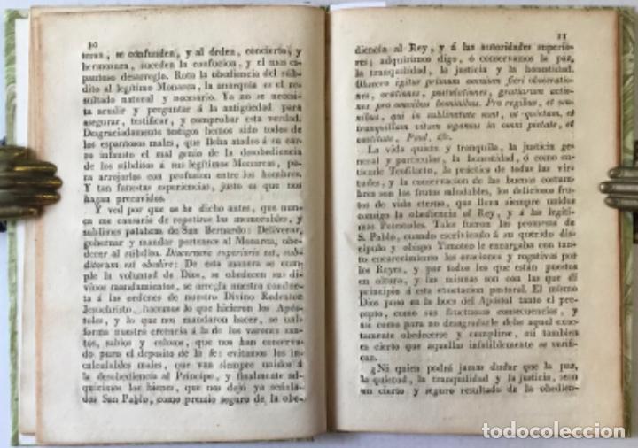 Libros antiguos: NOS DON VICTOR DAMIAN SAEZ SANCHEZ MAYOR, POR LA GRACIA DE DIOS Y DE LA SANTA SEDE APOSTOLICA... - Foto 5 - 245010200