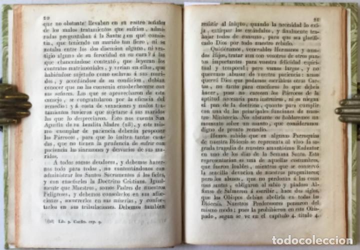 Libros antiguos: NOS DON VICTOR DAMIAN SAEZ SANCHEZ MAYOR, POR LA GRACIA DE DIOS Y DE LA SANTA SEDE APOSTOLICA... - Foto 6 - 245010200