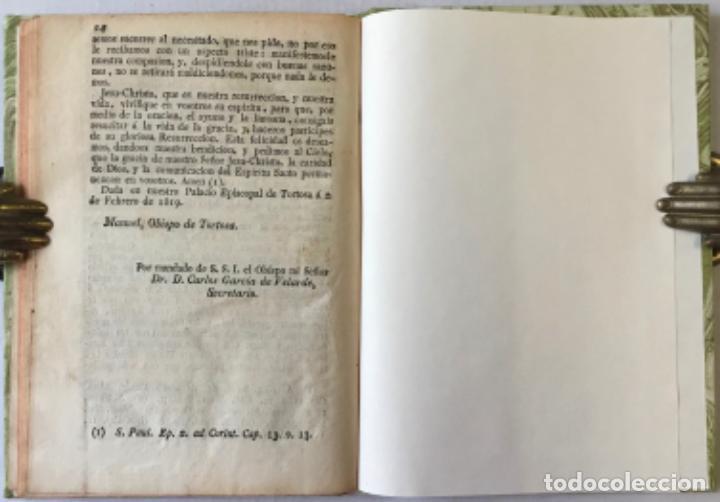Libros antiguos: NOS DON VICTOR DAMIAN SAEZ SANCHEZ MAYOR, POR LA GRACIA DE DIOS Y DE LA SANTA SEDE APOSTOLICA... - Foto 9 - 245010200