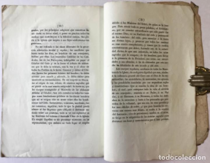 Libros antiguos: PASTORAL QUE EL ILLUSTRISIMO SEÑOR D. PEDRO MARTINEZ DE SAN MARTIN, OBISPO DE BARCELONA EN... - Foto 4 - 245014435