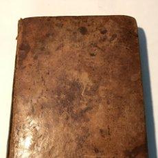 Libros antiguos: VERSION PARAFRASTICA DE LAS EPISTOLAS CANONICAS 1787. Lote 245742215