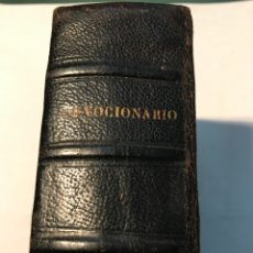 Libros antiguos: DEBOCIONARIO EL PERFECTO FELIGRES OFICIO DIVINO COMPLETO. Lote 245745600