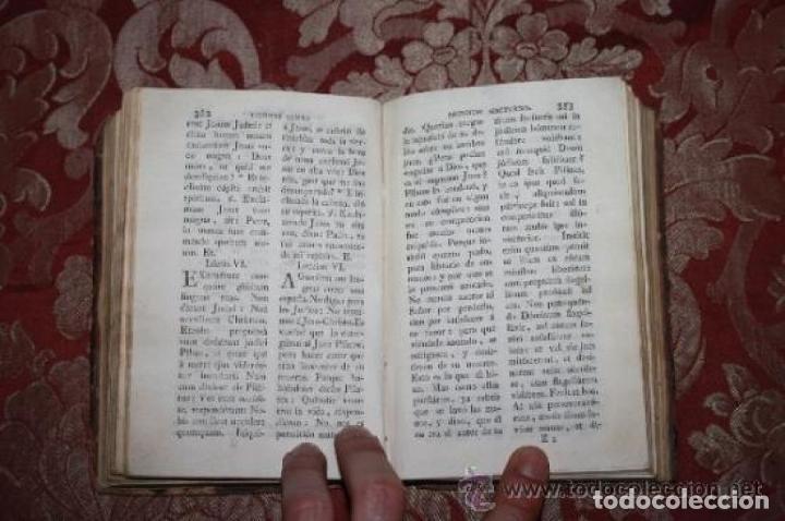 Libros antiguos: OFICIO DE LA SEMANA SANTA Y SEMANA DE PASQUA EN LATIN Y CASTELLANO. JOSEPH RIGUAL 1803 - Foto 5 - 245779645