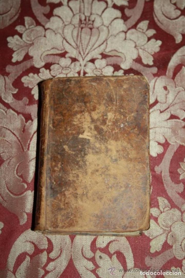 Libros antiguos: OFICIO DE LA SEMANA SANTA Y SEMANA DE PASQUA EN LATIN Y CASTELLANO. JOSEPH RIGUAL 1803 - Foto 6 - 245779645