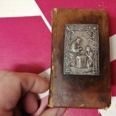 Libros antiguos: JOYA DEL ALMA PIADOSA . RR. PP. REDENTORISTAS. PLACA DE PLATA EN LA CUBIERTA. TODO UNA JOYA!!!. Lote 246120310