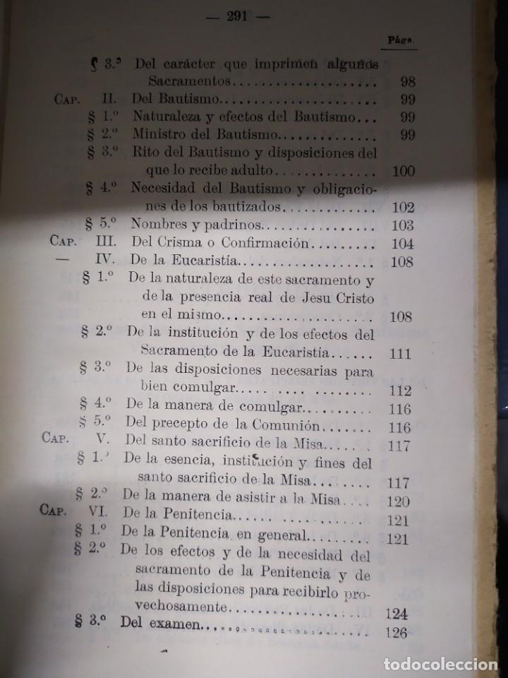 Libros antiguos: 1927.- CATECISMO MAYOR. PRESCRITO POR S.S. PIO X - Foto 7 - 202991921