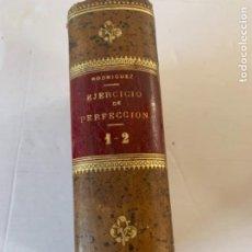 Libros antiguos: EJERCICIO DE PERFECCIÓN (BOLS, 4). Lote 246852330