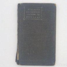 Libros antiguos: MANUALITO DEL SAGRADO CORAZÓN DE JESÚS - DEUSTO 1915. Lote 247712380