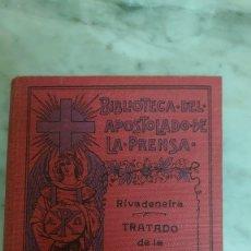 Livros antigos: PRPM 52 TRATADO DE LA TRIBULACION - PEDRO DE RIVADENEIRA.. Lote 248098910