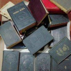 Livres anciens: LOTE DE LIBROS RELIGIOSOS. Lote 250296485