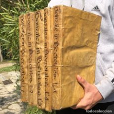 Libros antiguos: AÑO - 1737 - INQUISICIÓN - SALAMANCA - GONZALEZ TELLEZ - PERGAMINO - FOLIO - LIBRORUM DECRETALIUM. Lote 251151265