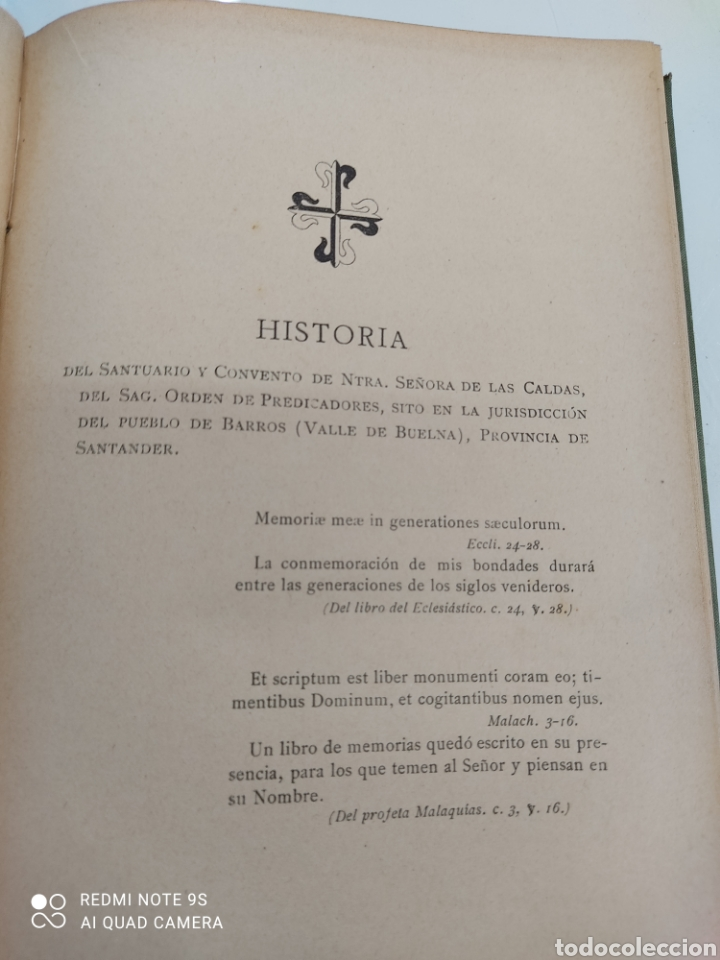 Libros antiguos: HISTORIA DE NUESTRA SEÑORA DE LAS CALDAS Y SU CONVENTO 1900 ILUSTRACIONES DE RICARDO DE VALERO - Foto 7 - 251959530