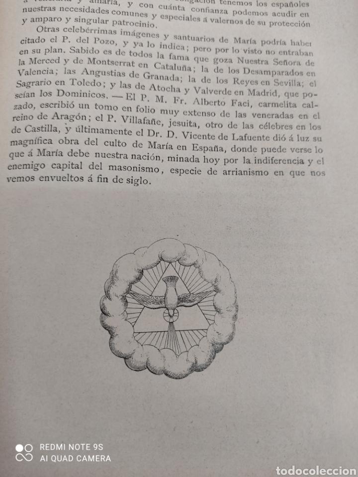 Libros antiguos: HISTORIA DE NUESTRA SEÑORA DE LAS CALDAS Y SU CONVENTO 1900 ILUSTRACIONES DE RICARDO DE VALERO - Foto 10 - 251959530