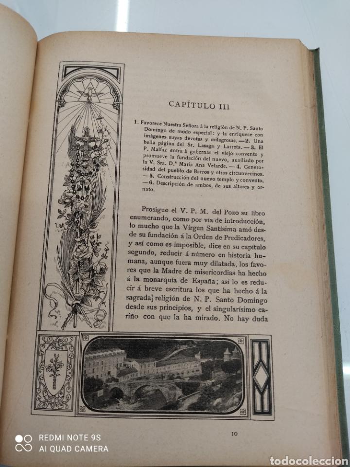 Libros antiguos: HISTORIA DE NUESTRA SEÑORA DE LAS CALDAS Y SU CONVENTO 1900 ILUSTRACIONES DE RICARDO DE VALERO - Foto 11 - 251959530
