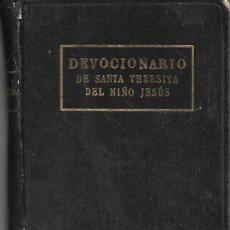 Libros antiguos: ANTIGUO DEVOCIONARIO DE SANTA TERESITA DEL NIÑO JESUS DE 1925. Lote 252034075