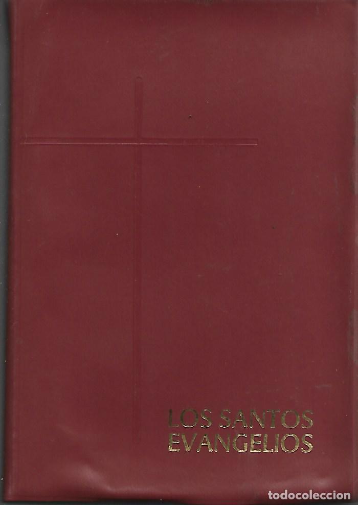 ANTIGUO LIBRO LOS SANTOS EVANGELIOS DE 1971 (Libros Antiguos, Raros y Curiosos - Religión)
