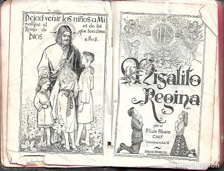 Libros antiguos: ANTIGUO LIBRO MISALITO REGINA 1958 - Foto 2 - 252047330