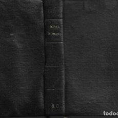 Libros antiguos: ANTIGUO LIBRO MISAL ROMANO DE 1954. Lote 252053440