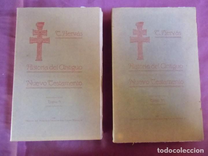 HISTORIA DEL ANTIGUO TESTAMENTO/TOMAS HERVAS/ALBACETE,1916-T.2.DEDICADO A STMA.CRUZ DE CARAVACA.RARO (Libros Antiguos, Raros y Curiosos - Religión)