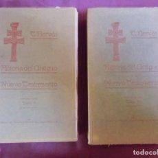 Libros antiguos: HISTORIA DEL ANTIGUO TESTAMENTO/TOMAS HERVAS/ALBACETE,1916-T.2.DEDICADO A STMA.CRUZ DE CARAVACA.RARO. Lote 252949880