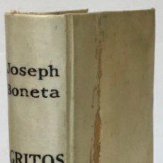 Libros antiguos: GRITOS DEL PURGATORIO, Y MEDIOS PARA ACALLARLOS. - BONETA, JOSEPH.. Lote 123166298