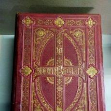 Libros antiguos: SAGRADA BIBLIA, 4 TOMOS, FELIX TORRES AMAN. ILUSTRACIONES GUSTAVO DORE, 1871-1873. MONTANER Y SIMON.. Lote 253749530