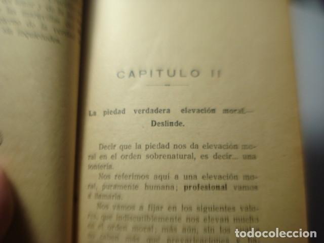 Libros antiguos: LIBRO DE PENSAMIENTOS RELIGIOSOS - SERVANDO BALAGUER MARQUEZ - LUZ EN LA SENDA - PALENCIA 1925 - Foto 4 - 254648510