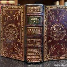 Libros antiguos: OFICIO DE LA SEMANA SANTA SEGÚN EL MISAL Y BREVIARIOS ROMANOS. Lote 254726430