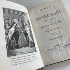 Libri antichi: OBRAS DE SANTA TERESA DE JESUS - TOMO IV - 1872. Lote 282872188