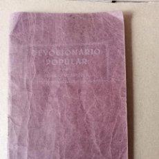 Libros antiguos: DEVOCIONARIO POPULAR - AÑO 1.934 -VER FOTOS. Lote 256026020