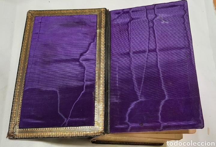 Libros antiguos: NUEVO EUCOLOGIO ROMANO POR ANTONIO ROMERO MOLINERO. - Foto 2 - 256139895
