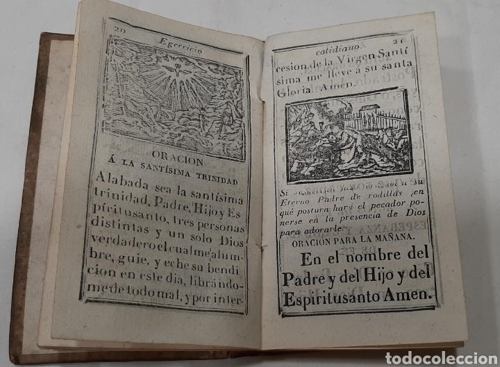 Libros antiguos: EJERCICIO COTIDIANO CON ORACIONES A MUCHOS SANTOS. VALLADOLID, 1848. - Foto 3 - 257439060