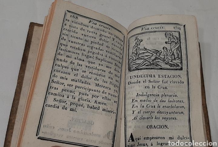 Libros antiguos: EJERCICIO COTIDIANO CON ORACIONES A MUCHOS SANTOS. VALLADOLID, 1848. - Foto 5 - 257439060
