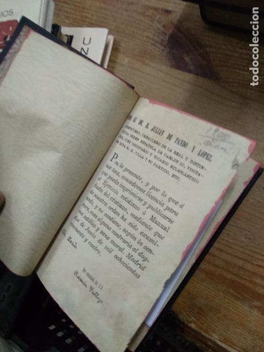 Libros antiguos: Ejercicio cotidiano manual diario del cristiano 1854. REI-352 - Foto 2 - 257474325