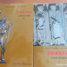 Libros antiguos: PROFETAS. COMENTARIO I Y II. NUEVA BIBLIA ESPAÑOLA. - LUIS ALONSO SCHÖKEL - J. L. SICRE DÍAZ. NUEVO. Lote 257680480