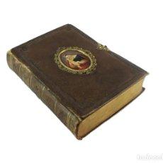 Libros antiguos: LIBRO ORACIÓN. VIENA 1849. CENTRAL PINTADO A MANO. DER SGERE FEI MIT BUE! GEBSTH. Lote 224767107
