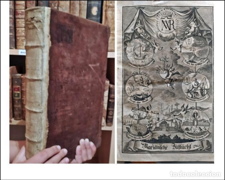 AÑO 1711: ATENCIÓN A ESTE HERMOSO LIBRO DEL SIGLO XVIII. IN FOLIO. FRONTISPICIO. VER FOTOS. (Libros Antiguos, Raros y Curiosos - Religión)