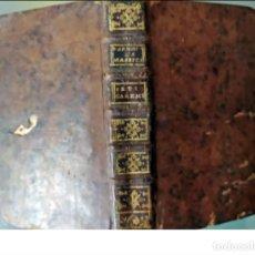 Libros antiguos: AÑO 1775: LIBRO DEL SIGLO XVIII BIEN CONSERVADO.. Lote 268915039