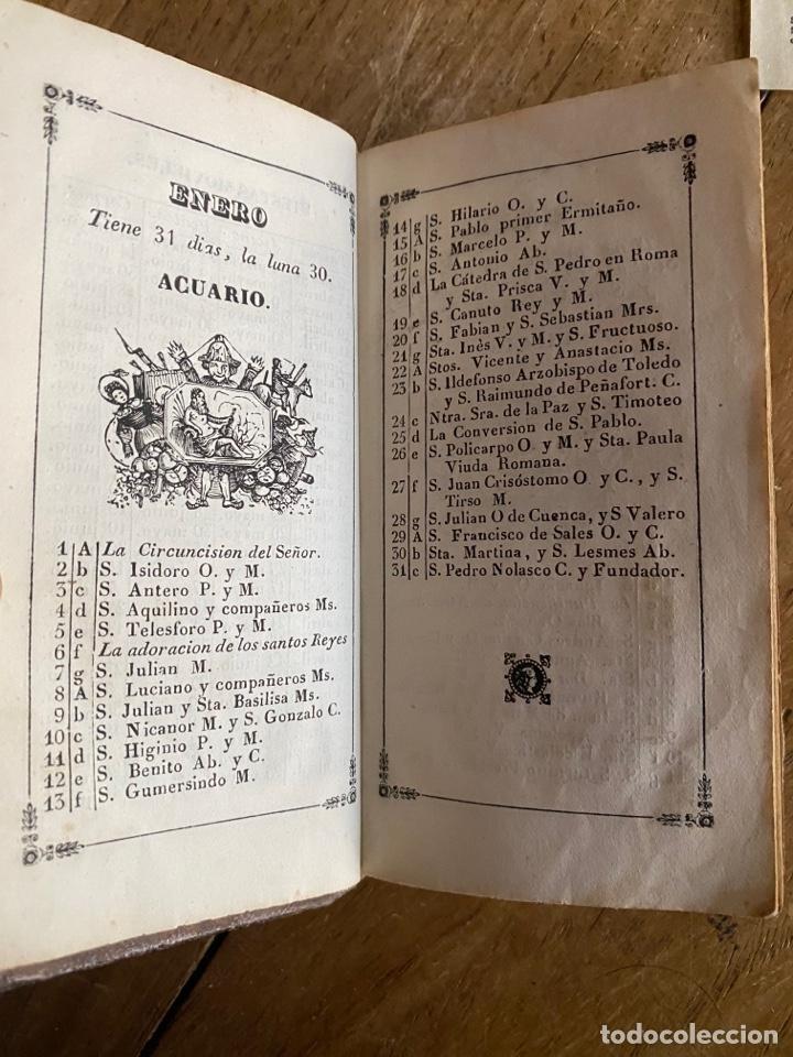 Libros antiguos: Libro Ejercicio Cotidiano Oraciones Confesión Comunión para la Santa Misa- 1852 - Foto 4 - 259755825