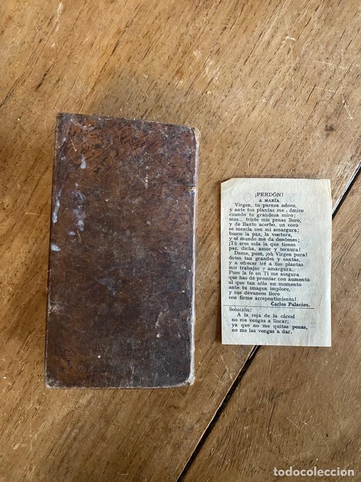 Libros antiguos: Libro Ejercicio Cotidiano Oraciones Confesión Comunión para la Santa Misa- 1852 - Foto 7 - 259755825
