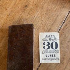 Libros antiguos: LIBRO EJERCICIO COTIDIANO ORACIONES CONFESIÓN COMUNIÓN PARA LA SANTA MISA- 1852. Lote 259755825