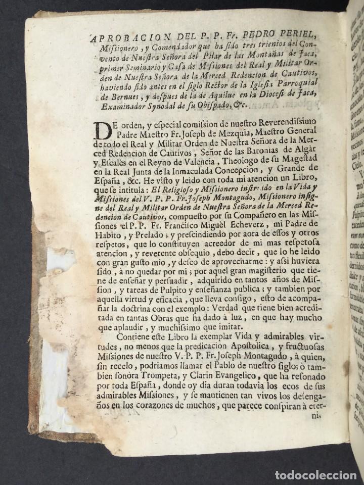 Libros antiguos: 1741 - BRUJAS - HECHICEROS - ENDEMONIADOS - ORDEN DE LA MERCED - PERGAMINO - ZARAGOZA - Jaca Huesca - Foto 6 - 259767310