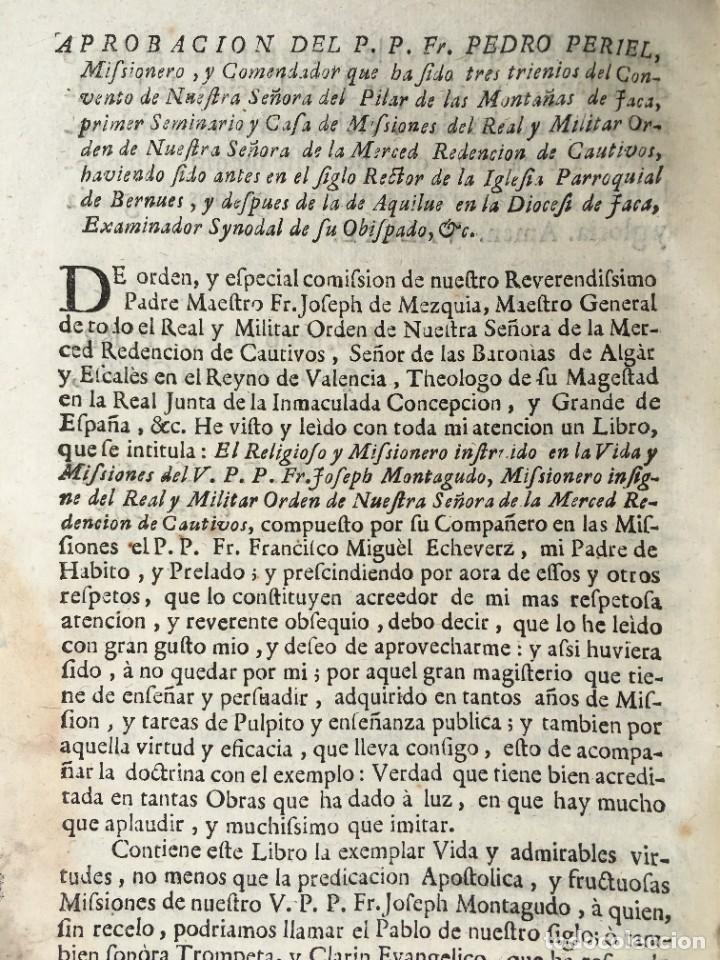 Libros antiguos: 1741 - BRUJAS - HECHICEROS - ENDEMONIADOS - ORDEN DE LA MERCED - PERGAMINO - ZARAGOZA - Jaca Huesca - Foto 7 - 259767310